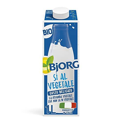 BJORG Bevanda di Sì al Vegetale (1L) Senza Zuccheri Aggiunti - 1000 ml