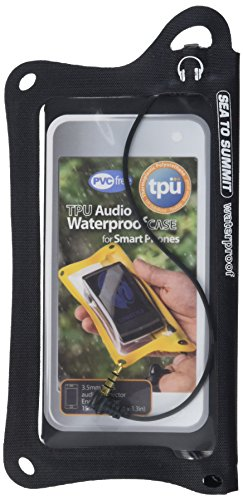 Sea to Summit TPU Audio Waterproof Case for Smartphone (Black)