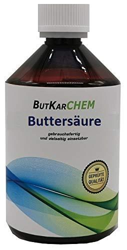 ButKarCHEM 1x500ml Buttersäure (Varianten 150ml-2500ml) ARTNR.9984 * 24h DHL SOFORT Versand* Gebrauchsfertig von Karbid 24 (500ml)