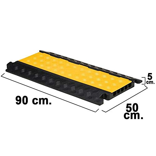 Wolfpack 15050480Kabeldurchführung Boden mit 5Kanäle, 90x 50x 5cm