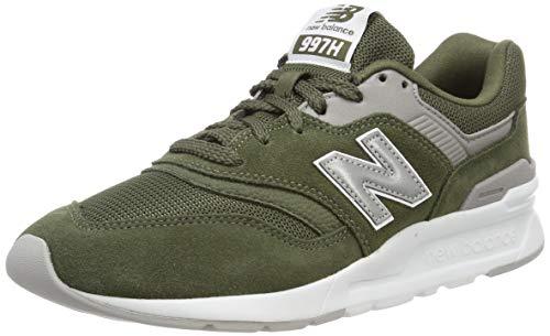 New Balance Herren 997H Core Sneaker, Grün (Dark Covert Green/Silver), 44 EU