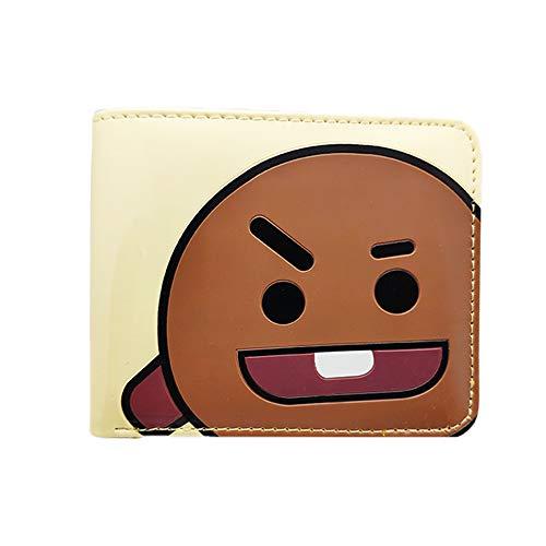 BTS Merchandise - Monedero de BTS TATA KOYA Cooky MANG RJ SHOOKY CHIMMY Van Kpop BTS Merch Army BTS regalo Shooky talla única