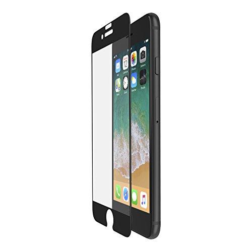 Belkin ScreenForce TemperedCurve, abgerundeter Glas-Displayschutz für das iPhone 8 Plus/7 Plus/6s Plus/6 Plus (Abdeckung von Rand zu Rand, Hartglas) schwarz