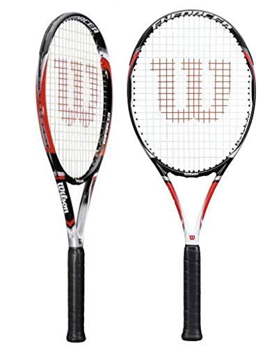 Wilson - Racchetta da Tennis Enforcer Lite 105,per Adulti, Unisex, WRT59270U3, Multicolore - Multicolore, 4.375