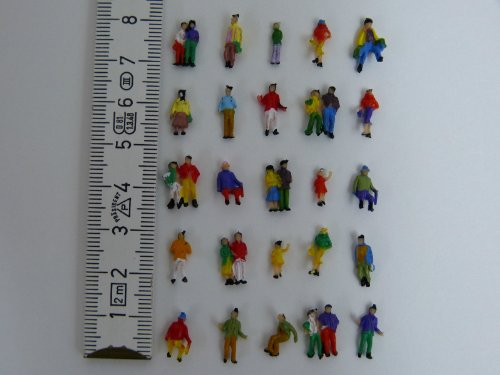 100 Figuren Reisende zu N 1:160 Paare Familien Kinder