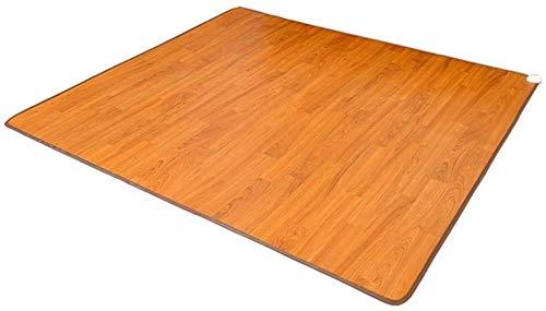 Kohlenstoff-Kristall elektrische Heizmatte, Holz-Streifen-Kohlenstoff-Kristall-Heizkissen, Fußbodenheizung Pad mit...