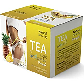 PineappleTea Weight Loss Tea Detox, Express Appetite Suppressant, 30 Day Tea-tox, with Potent Traditional 100% Naturals Herbs (Pineapple)