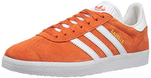 adidas Originals Gazelle - Zapatillas deportivas para mujer, Naranja (Blanco naranja táctil/Metálico/Oro), 36.5 EU