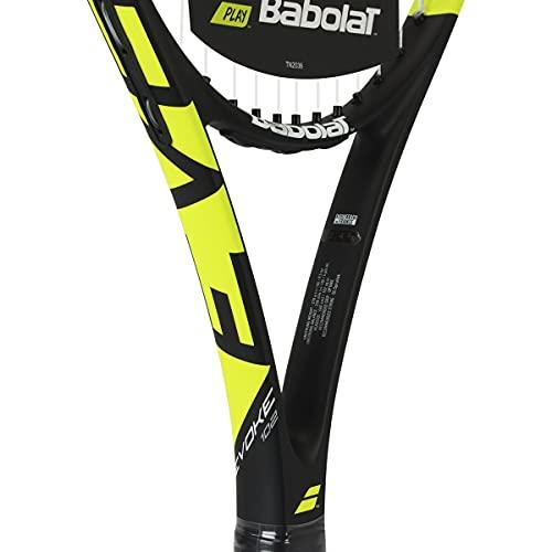 Babolat Evoke 102 Strung Raqueta, Adultos Unisex, Jaune Noir Blanc (Multicolor), Talla Única
