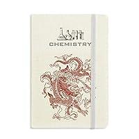 中国のドラゴンの動物の肖像画 化学手帳クラシックジャーナル日記A 5