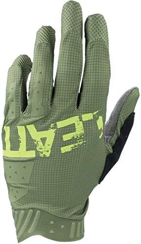 Leatt Gants MTB 1.0 GripR Guantes de ciclismo, Cactus verde, X-Large Unisex...