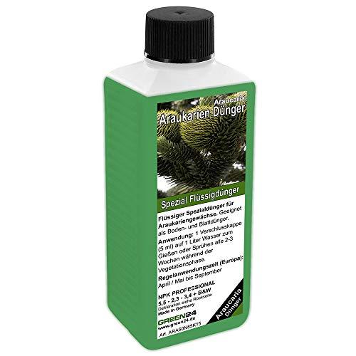 GREEN24 Araukarien-Dünger HIGH-TECH, Pflanzen Dünger für Araucaria Andentanne Araukarie Schmucktanne
