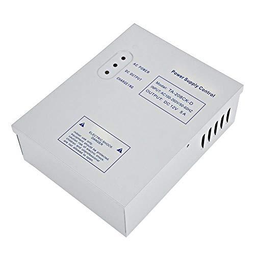 Toegangscontrole Voeding, batterij anti-polariteit/bescherming tegen ontlading, DC 12V/5A AC 110-240V Deur Toegangscontrole Systeem Schakelende voeding UPS