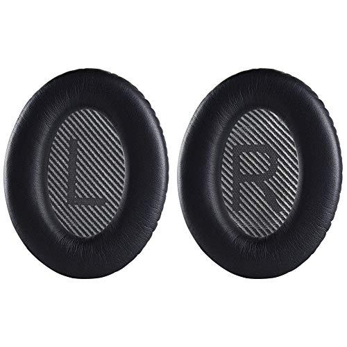 NSEN QC35 II Earpads,Headphones Replacement Ear Pads Compatible with Bose QuietComfort 35 QC35 & QC35ii/QC25/QC15/QC2/AE2/AE2i/AE2W Headphones (QC35-Black)