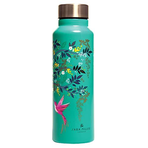 Sara Miller Water Bottle | 750ml Stainless Steel Water Bottle | Chelsea Collection | BPA...