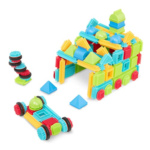 Bristle Blocks by Battat – The Official Bristle Blocks – 112Piece – STEM...