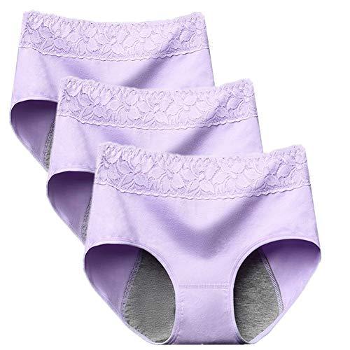 Womens Ondergoed Periode Ondergoed Slipje Voor Vrouwen Naad Ademend Slipje Dames Broek Ondergoed Naadloze Knickers Voor Vrouwen purple,m