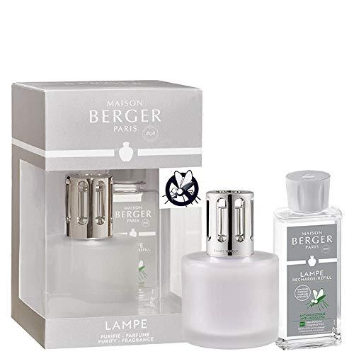Maison Berger Lampe Berger Pure Frost + Anti-Mückenschutz Set