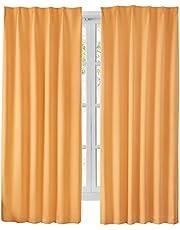 Hansleep カーテン 1級遮光 2枚組 断熱 防寒 防音 省エネ 厚手 無地 おしゃれ 洗える 寝室 リビング用