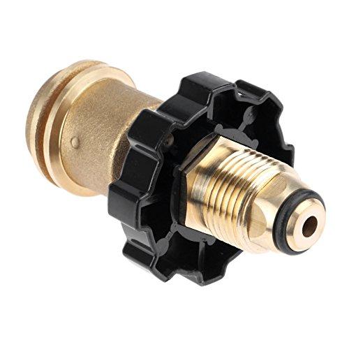propane Pol d'adaptateur de cuve au Qcc1/Type1 Vieux vers de nouveaux à la main Style de roue Resserrer