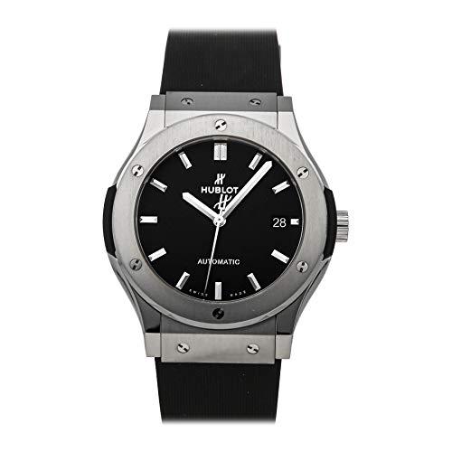 Hublot - Reloj para hombre modelo Classic Fusion Titanium. Automático, con esfera negra,  542NX1171LR.