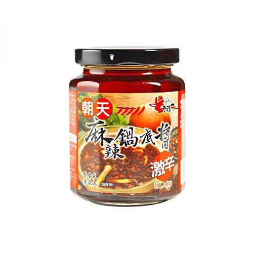 老騾子 朝天 麻辣鍋底醤260g/瓶 激辛火鍋の素 台湾産本場中華調味料業務用食品