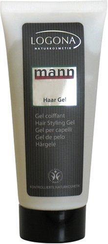 Logona - Mann gel coiffant - 100 ml tubes - Pour une fixation durable et naturelle