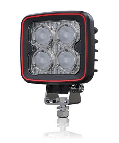 HMH, Weldex LED Arbeitsscheinwerfer, Rückfahrscheinwerfer, eckig, 12W, 60 Grad, 12V, 24V, ECE R10 & ECE R23