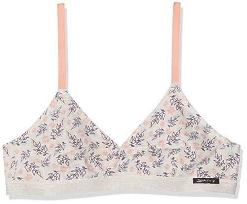 Skiny Lovely Leaves Girls Soft Triangle Sujetador para Niñas