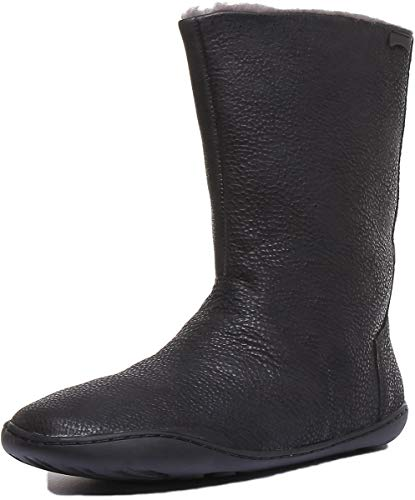 CAMPER Womens Peu Cami Mid Calf Boot, Black, 41 EU