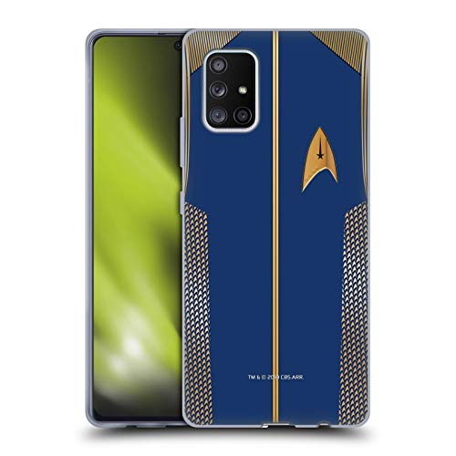 Head Case Designs Officially Licensed Star Trek Discovery Captain Uniforms Soft Gel Case Compatible with Samsung Galaxy A71 5G (2020)
