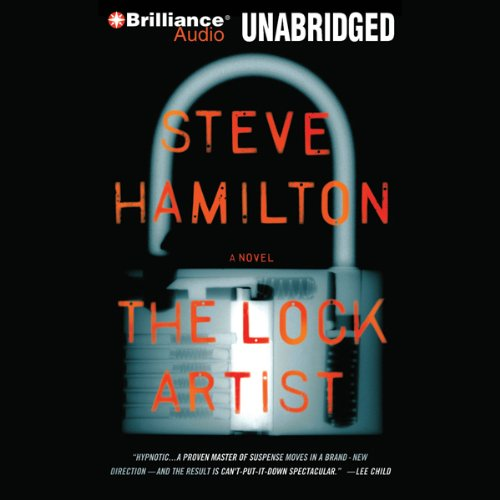 The Lock Artist audiobook cover art
