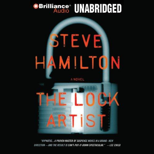 The Lock Artist  audiobook cover art