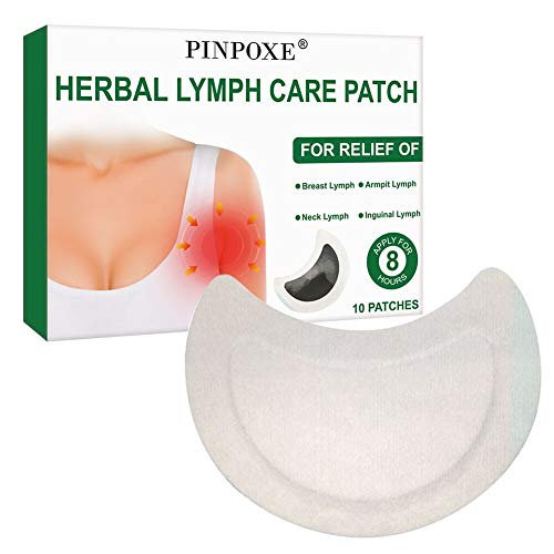 Herbal Lymph Care Patch, Achsel Lymph Care Patch, Kräuter Lymphpflege Pflaster, Hals Anti-Schwellung Lymphatisches Entgiftungspflaster Aufkleber Brust Lymphknoten Pflaster Pads Hilfe