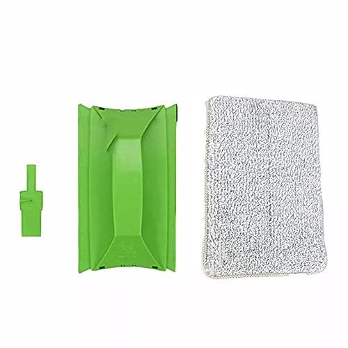 KALUO Cepillo de limpieza de vidrio multifuncional para limpiar el alféizar de la ventana Gap Track Brush All-in-one Handheld Cleaning Brush (verde)