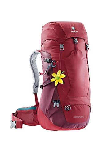 Deuter Futura - Giacca da donna, Donna, Zaino da escursionismo (fino a 45 L), 3400618, Melanzana/Marone, 28