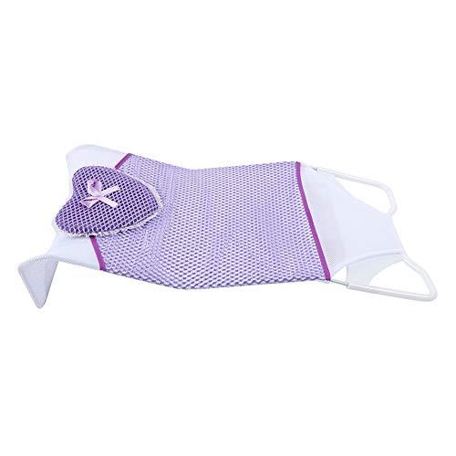 Garosa Baby Bath Net, bescherm je baby, de antislip dubbele in elkaar grijpende badkamer-tandstang vaste Dacron-materiaal voor zuigeling douche-tandstang bad