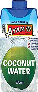 AYAM Coconut Water | Zero Fat | Gluten, Egg, Dairy, Nut & Shellfish Free | Not from Concentrate | For Vegans | Great Taste...