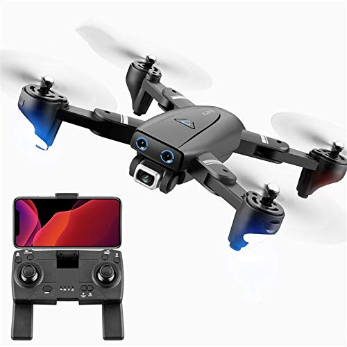 Avión no tripulado, 4K Lente Pixel HD, GPS de posicionamiento por satélite, GPS de Punto Fijo de Altura Fija, con una tecla de despegue y Aterrizaje, 5G en Tiempo Real de transmisión