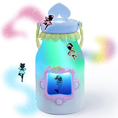 WowWee Got2Glow Fairy Finder - Electronic Fairy Jar Catches Virtual Fairies - Got to Glow (Blue)   Hot Christmas Toy 2021