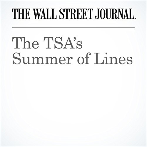 The TSA's Summer of Lines audiobook cover art