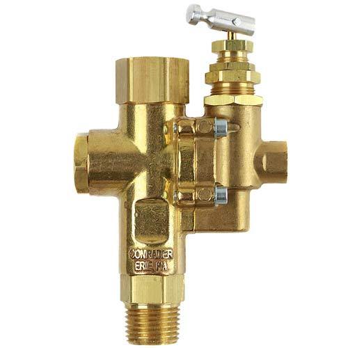 Air Compressor Pilot check valve unloader combination gas discharge 95-125 1/2