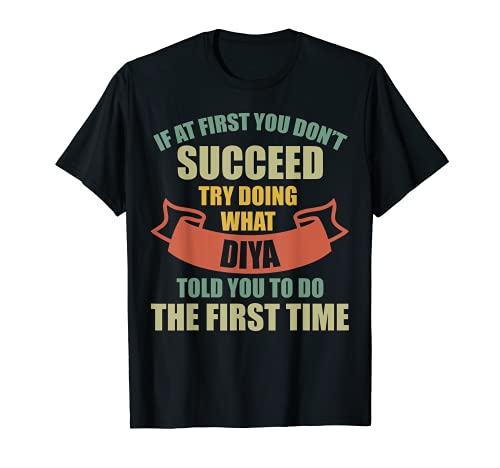 DIYA - Camisa de nombre personalizada, diseño de DIYA Camiseta