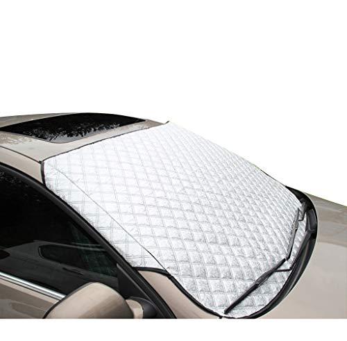 Four Seasons Gebruik zonneklep, Silver Thermische isolatie Sunscreen voorruit Cover verduisteringsgordijn Opknoping Buiten Quick Installation Zonnescherm (Size : 147 * 100CM)