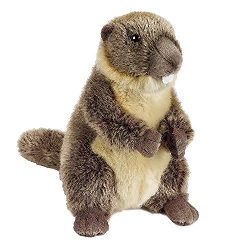 Muñeca De Marmota Simulación Figura De Acción De Animal De Marmota Juguete De Peluche Grande Año De La Rata Regalo De Año Nuevo, Sorpresa, Número: 770871 (Size : 25cm)