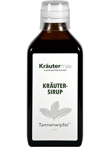 Tannenwipfel Sirup mit Spitzwegerich Saft Hustensaft Hustensirup Flüssig 1 x 200 ml