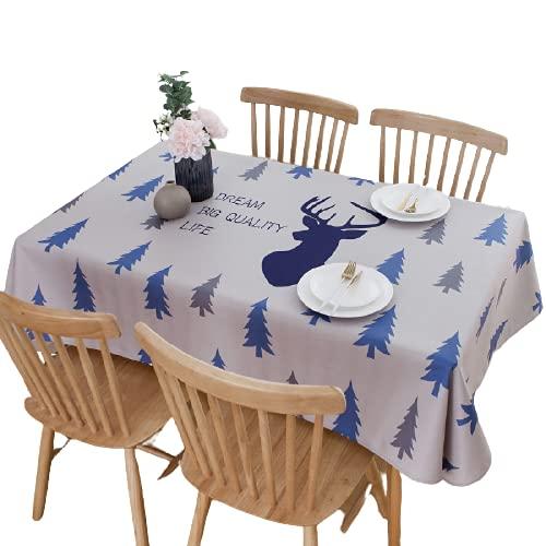 Poliéster Mantel De Cocina para El Hogar Rectangular Multicolor Opcional Astas Mantel De Pino Cafetería Mesa De Centro De Hotel Mantel Multifuncional 140x180cm