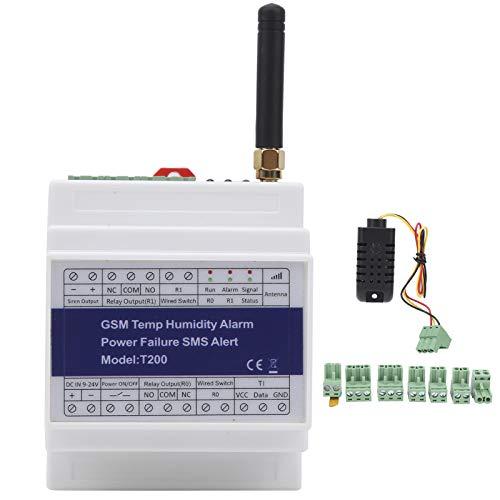 Alarma de salida de energía, sistema de alarma de temperatura inteligente GSM SMS, monitoreo remoto para paneles solares Voltaje CC Estado de energía