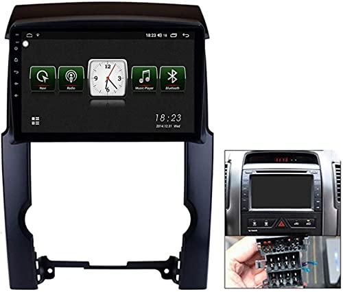 LYHY Android 10 Radio de navegación GPS para automóvil para Kia Sorento 2009-2012 con Pantalla táctil de 9 Pulgadas Soporte FM Am RDS DSP/MP5 Player/BT Control del Volante/Carplay