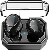 RTUTUR Drahtloser Bluetooth Kopfhörer Sport Stereo Aktiv Earbud + Charger Case...
